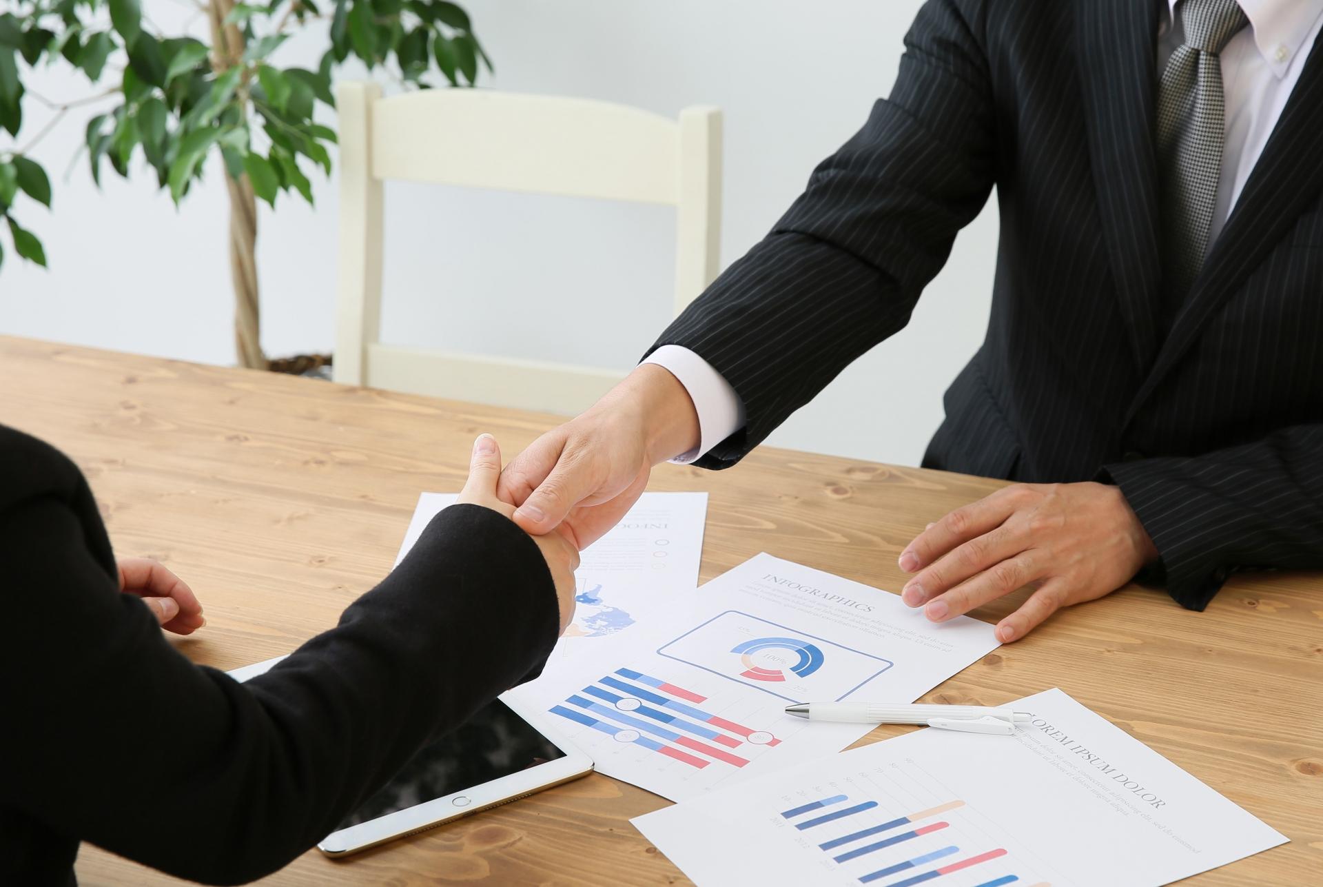 創業融資面談